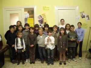 Photo de quelques élèves lauréats au concours EMA